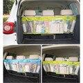 Nuevo asiento de coche grande pouch multifunción plegable car boot organizador de almacenamiento de basura colgando bolsas de almacenamiento de bolsas de cochecito envío gratis
