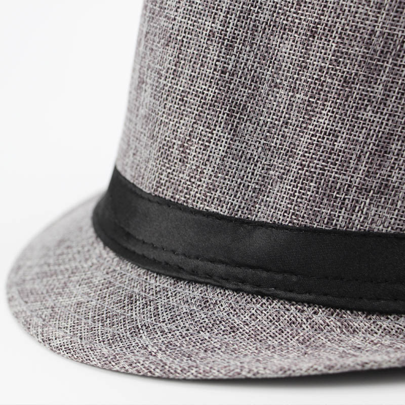 1f17a388f4b 2018 Brands England Retro Men Couple Women Top Jazz Hat Spring Summer  Autumn Bowler Hats Cap with ribbon Classic Version Fedoras-in Fedoras from  Apparel ...