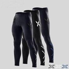 Новый бренд фитнес для мужчин колготки тренажерный зал Yoag мотобрюки Crossfit Jogger Спортивные Леггинсы Athleisure Спортивная Jog эластичные штаны