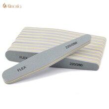 10pcs/lot 220/280 Grits Nail File Sanding Polishing Buffer Blocks Green Sponge Polish UV Gel Sandpaper Files