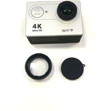 Clownfish für EKEN H9 H9R Anti Scratch Objektiv Glas UV Filter Objektivdeckel Silikon schutzhülle Für Ursprüngliche EKEN Action kamera