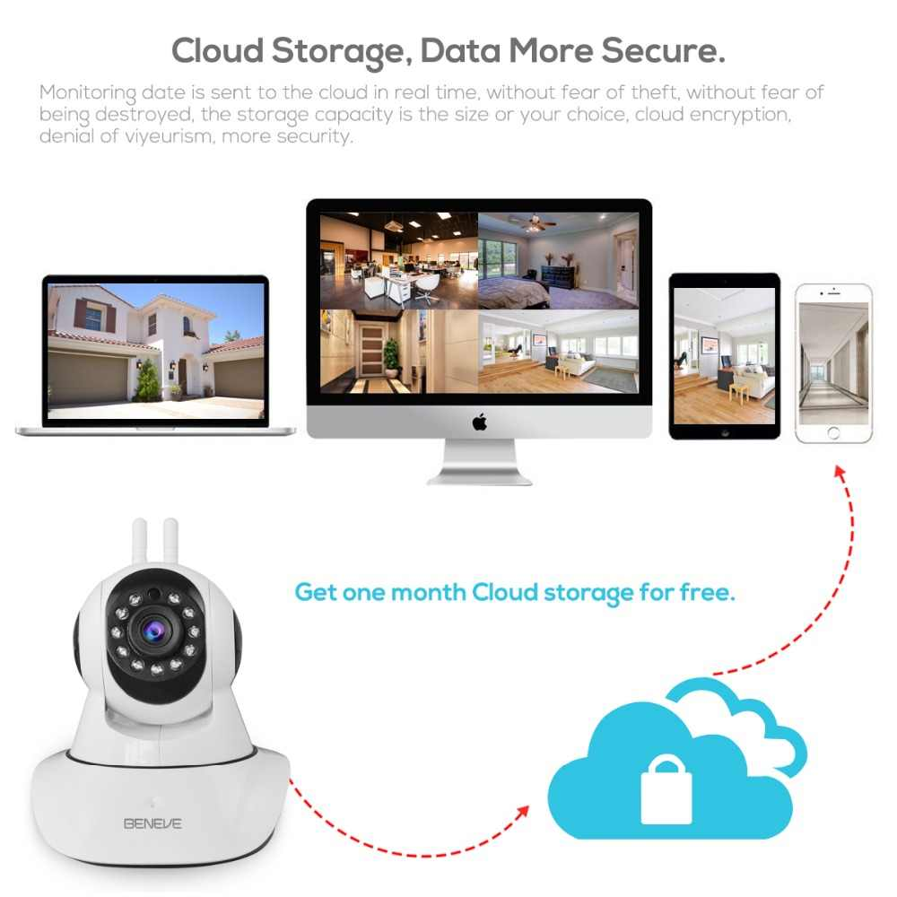 Home Security 1080P Wifi IP Camera Audio Record Surveillance Wireless Camera Baby Monitor Auto Tracking Camera