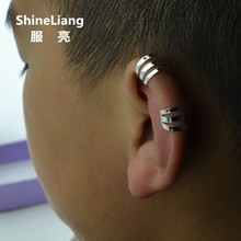2 Pieces Fashion brand clip on the ear earrings for women me