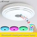 2016 Nuevos RGB Regulable 36 W LLEVÓ la Luz de techo con Bluetooth y música 90-260 V Led moderna lámpara de techo de 15-30 metros Cuadrados