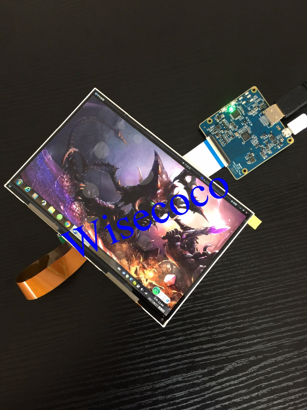 HDMI-MIPI Wisecoco совместимый Raspberry 3