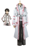 Sword Art Online Kirito Knights of the Blood Cosplay Costume