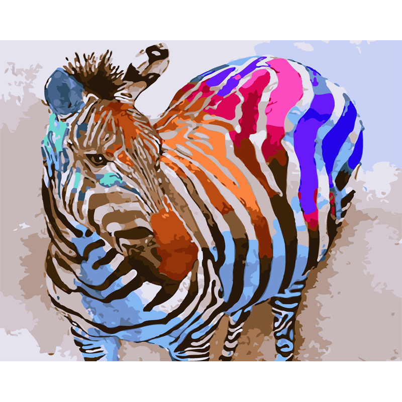 Zebra Wall Art zebra wall art canvas promotion-shop for promotional zebra wall