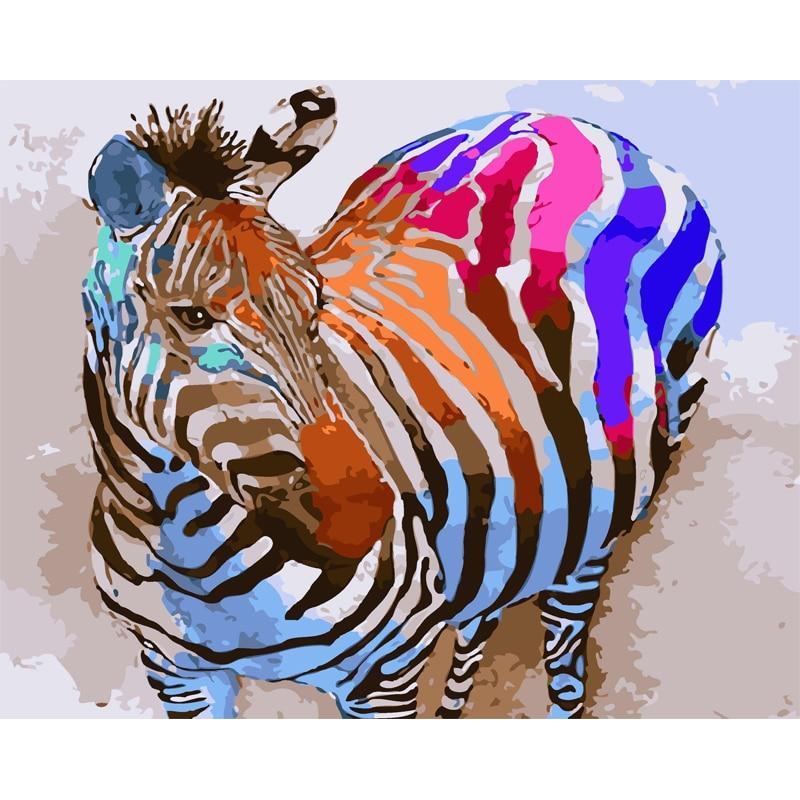 Zebra Wall Art zebra wall art canvas promotion-shop for promotional zebra wall