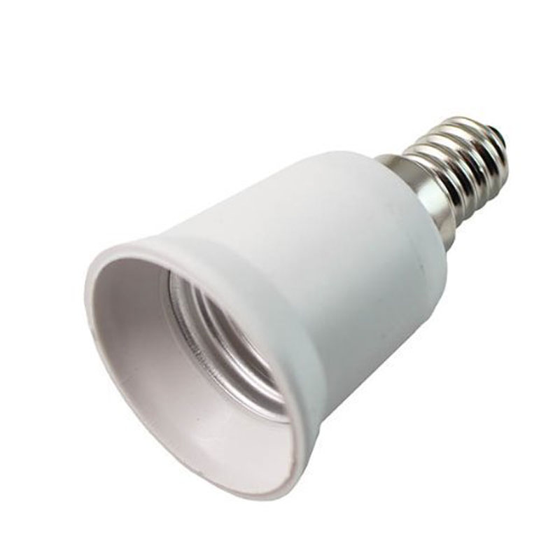 E14 to E27 Lamp Holder Converter Socket Light Bulb Lamp Holder Adapter Plug Extender Led Light Use JD9 WWO66