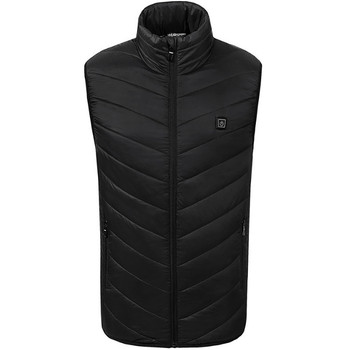 New Product Suitable For cold weather Men or Women Electric Heated Thermal Vest Heating Waistcoat Warm Winter Outdoor vest 7