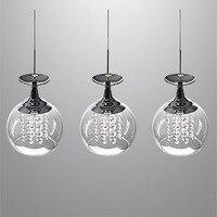 Pendant Lights 3 Light Modern Crystal Wineglass Wine Glass Light Pendant Lamp Ceiling Hanging EMS FREE