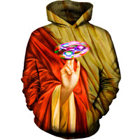 2018 FASHION MEN WOMEN Funny Buddha Rotating toy HOODIE 3D Hoodie Sweatshirts Pullovers Autumn Tracksuit Winter Loose Thin Hoody