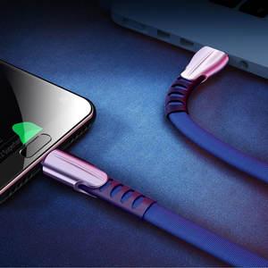 Image 3 - כבל USB עבור iPhone XR USB סוג C מהיר טעינת usb c כבל עבור סמסונג S9 S8 Xiaomi Pocophone F1 טלפון מטען מיקרו USB כבל