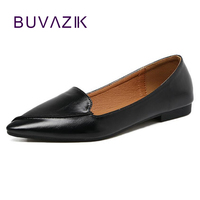 2018 Spring Summer New Fashion Women S Shoes Retro Style Sexy Pointed Toe Flats For Female