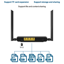 Cioswi WE5926 3G 4G Router Modem wireless Wifi Router 300Mbps 2.4Ghz Wifi Repeater openWRT Router 3G 4G Modem With Sim card Slot