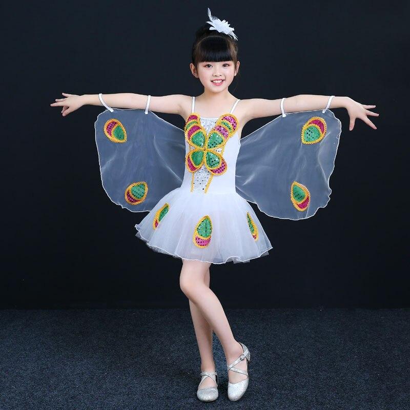 90 cm - 150 cm Kostym Barn Flickor Klänningar Kostym Anime Cosplay - Maskeradkläder och utklädnad - Foto 2