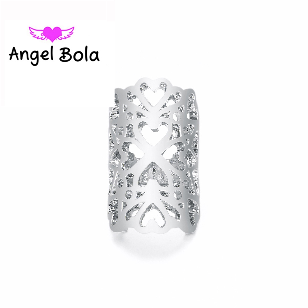 10Pcs/lot Hollow Charms Design DIY Jewelry Fashion Bracelet Pendant Endless Charms For Jewelry Making EP-065