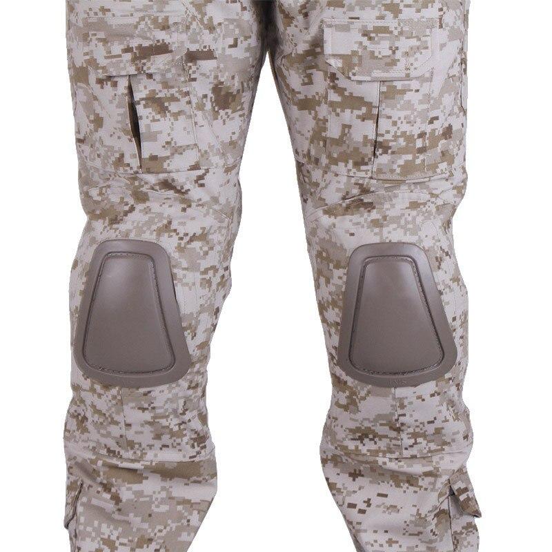 Aktiv Camouflage Militär Kampf Hosen Männer Hosen Tactical Armee Hose Mit Abnehmbare Knieschützer Typ Sport & Unterhaltung Sportbekleidung