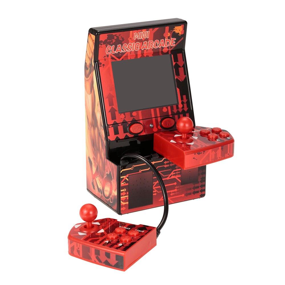 Новый 2019 обновленный мини Классический игровой Кабинет машина двойной джойстик ретро портативный плеер со встроенными 183 играми
