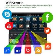 7 pouce 1Din Automatique Rétractable Écran Voiture MP5 Multimédia Lecteur Quad-core Android 6.0 GPS Navigation WiFi AM FM RDS Radio