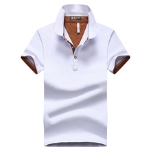 Mens Patchwork Polo Shirts Big Size 2017 Fashion Brand Multi-Color Summer Short Sleeve Slim Polo Shirt Men DT544