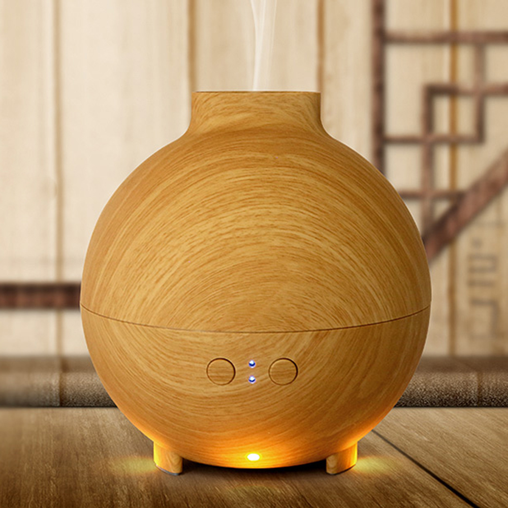 Aromacare 600mL UFO Ultralyd Aroma Diffuser Træ Korn Aromaterapi - Husholdningsapparater - Foto 4