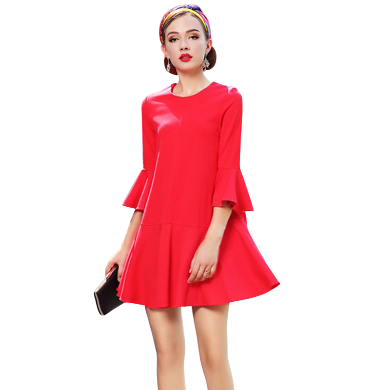 Online Get Cheap Korean Dress Red Color -Aliexpress.com | Alibaba ...