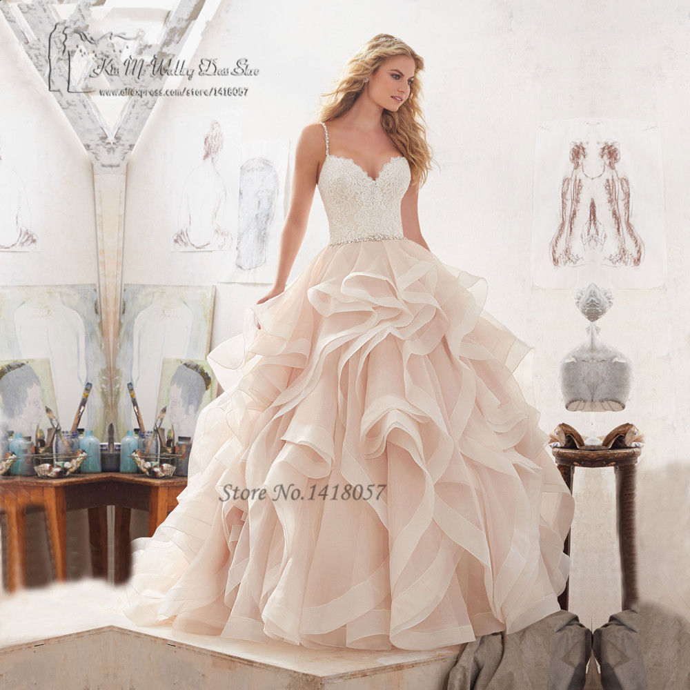 Dw2815 Princess Ball Gown Wedding Dresses 2017 Lace With: Bruidsjurken Vintage Princess Wedding Dresses Lace 2017