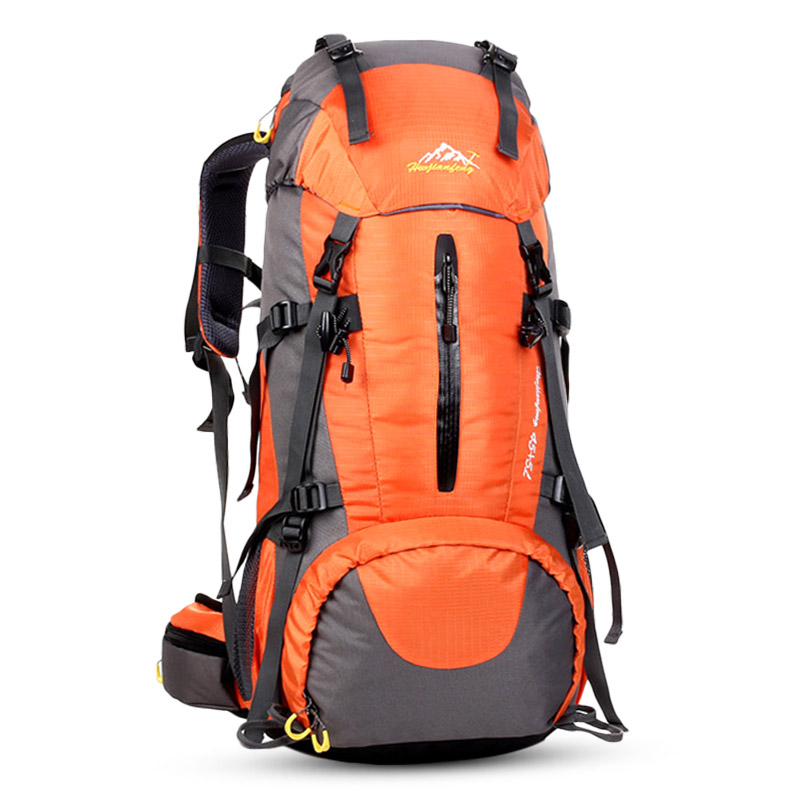 50L escalade sac à dos grande capacité randonnée étanche sac à dos couverture de pluie Camping alpinisme Sport hommes en plein air sac à dos