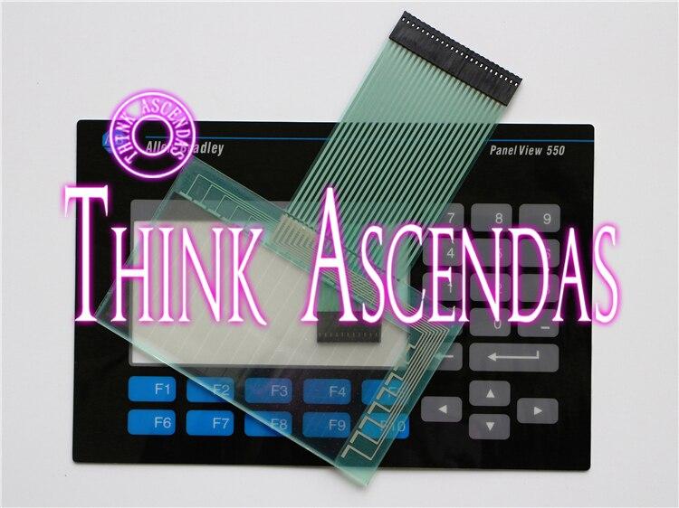 все цены на 1pcs New Panelview 550 2711-B5 2711-B5A10 / 2711-B5A16L1 / 2711-B5A20 Membrane Keypad / Touchpad онлайн