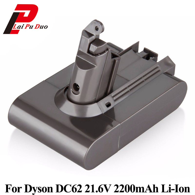 21.6V 2200mAh Li-Ion Replacement Vacuum cleaner battery for Dyson DC58 DC59 DC61 DC62 V6 965874-02 Rechargeable battery Batteria 21 6v 2200mah replacement battery for dyson li ion vacuum cleaner dc58 dc61 dc62 v6 965874 02 animal dc72 handheld battery
