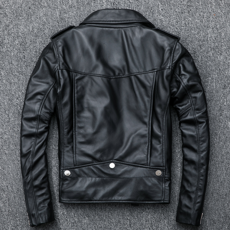 Spring Genuine Leather Jackets Women 2019 Fashion Real Sheepskin Coat Zippers Motorcycle Biker Jacket Female Sheep Leather Coats in Leather Jackets from Women 39 s Clothing