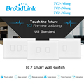 Broadlink TC2 1Gang 2Gang 3 Gang Touch Switch US AU Standard Smart Home Automation RF433 Wireless Wifi Control Light Wall Switch