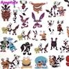 42pcs set Anime Cartoon Funny children s Toy Stickers DIY Suitcase Computer Skateboard Waterproof Stickers flash sale