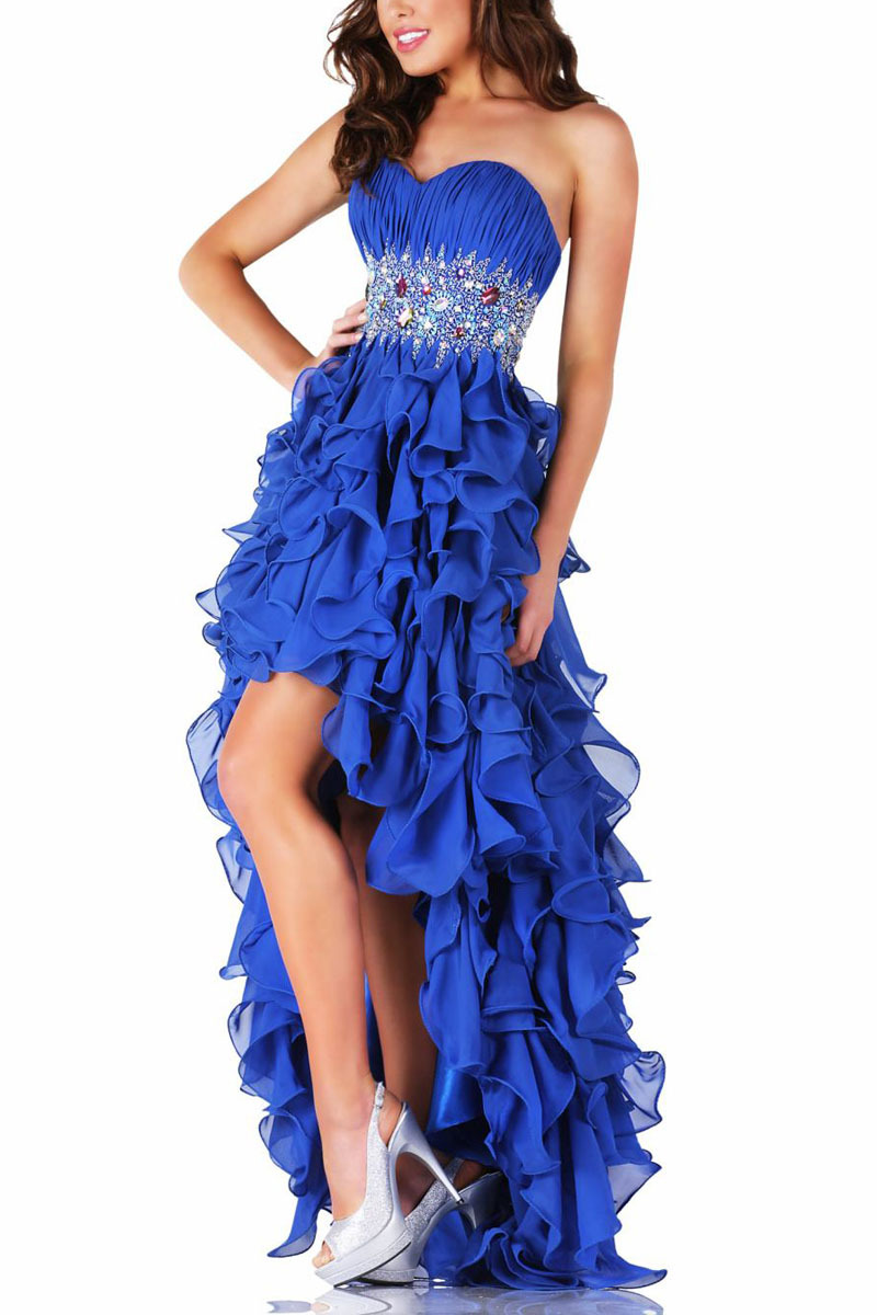 Online Buy Wholesale blue prom dresses 2014 from China blue prom ...