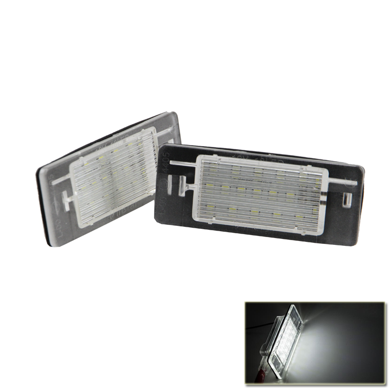 Led License Plate Lamp Lights For Opel Vectra C Estate 2002-2008 Auto  Car Rear Lamps Light For Opel Plug&Play коврики в салон opel vectra c акпп 2002 2008 сед 4 шт текстиль