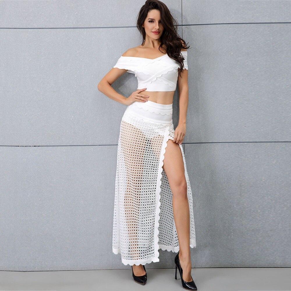 Célébrité Club Femmes Sexy De Fête Slash Offre Crêpe Backless Cou Maille Con Spéciale Corps En Night Robe Mode Gros qCHgwx