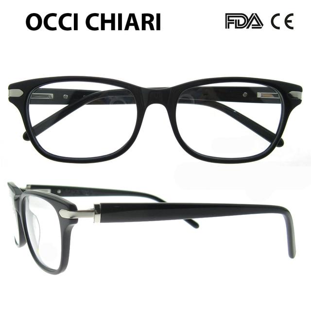 35d4df55db OCCI CHIARI Eyeglasses Frames Women Vintage Retro Demi full Rim Optical  Myopia Eye Glasses Clear Lens Spectacles Gafas W-CORONE