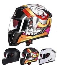 2016 Зима GXT G358 двойной линзы анфас Мотокросс мотоциклетный шлем ABS moto мотоцикл шлем рыцарь гонки защитные каски