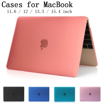 New crystal matte shell case cover for apple macbook air pro retina 11 6 12 13.jpg 350x350
