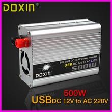 USB 500 Вт 12В в 220В Автомобилей Инвертер Всеобщей ST-N016