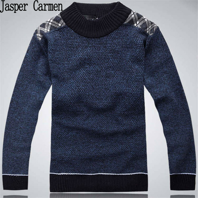 Free Shipping  2017 new High quality Brands New Winter Men's O-Neck Sweater Jumpers pullover sweater  41
