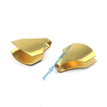 2013 jewelry findings Base metal foldover crimps Chain ends shipping free