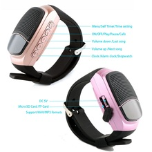 Hohe qualität B90 smart Bluetooth3.0 FM Radio Selfie Fern Alarm tf-karte Musik Smartwatch Drahtlose Zeit Display anti-verlorene uhr