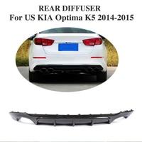 Carbon Fiber Rear bumper lip Diffuser for US KIA Optima K5 2014 2015