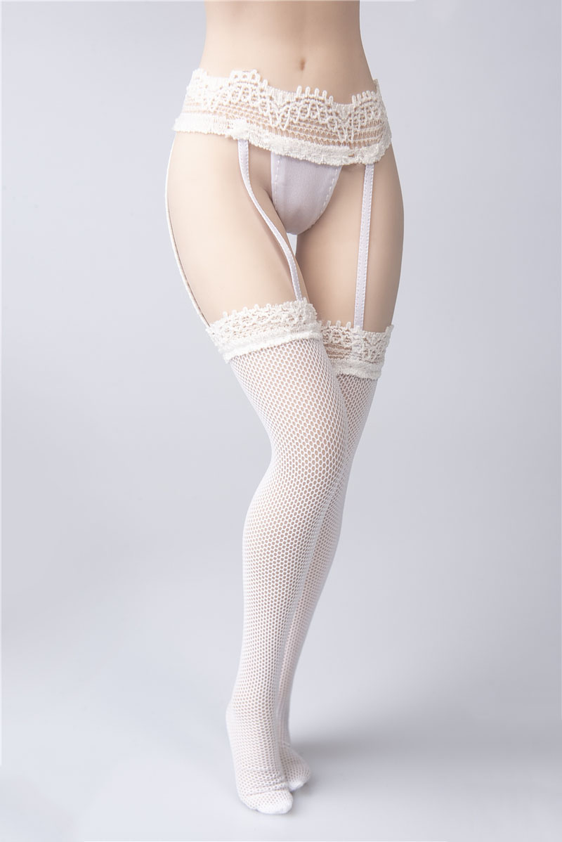 """VERYCOOL1//6 Scale Garter Lace Stockings With Briefs For 12/"""" Figure Phicen Doll"""