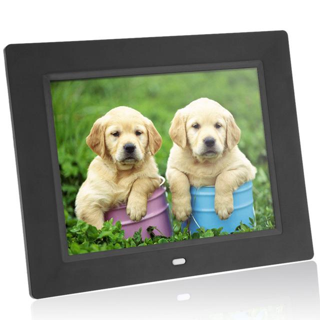 Digital Photo Frame Electronic Frame Alarm MP3/4 Movie Player with Remote Desktop