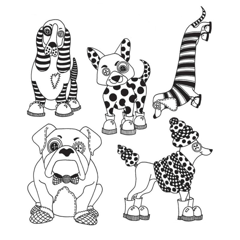 Eastshape Puppy Dog Tales Metal Cutting Dies and Clear Stamps for Craft Dies Scrapbooking Album Embossing New Dies for 2019 in Cutting Dies from Home Garden