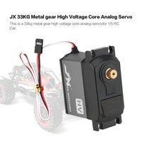 JX Servo 33KG Metal gear High Voltage Core Analog Servo PS HV9033MG for 1/5 RC Car compatible SAVOX 0236 LOSI XL 5T BAJA