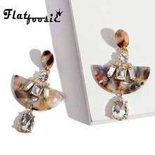 3f61743a14 Buy fan earrings crystal and get free shipping on AliExpress.com